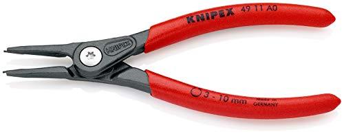 KNIPEX(クニペックス) 4911-A0 軸用精密スナップリングプライヤー 直(SB)