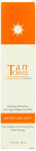 Tan TOWEL Moisture Mist Brume pour Visage et Mains 50 ml
