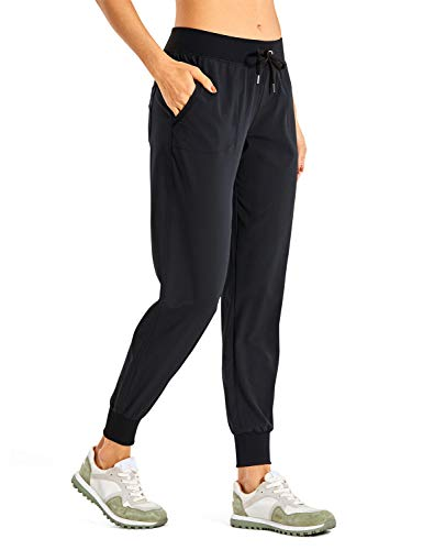 CRZ YOGA Women's Lightweight Joggers Pants with Pockets...