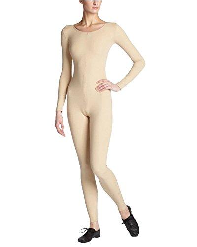Unisex Cuerpo Completo Adult Carnaval Halloween Segunda Piel Disfraz Desnudo S