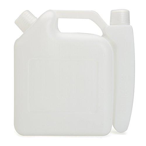 Tutoy 1L 2 taille olie benzine brandstof mengen fles tank container 25:1 50:1 voor kettingzaag trimmer