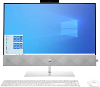 HP Pavilion 27inch All in One desktop - 27-d0309c, i7-10700T, 16GB DDR4, 512GB NVME M.2 SSD,27 INCH FHD Touch, WIN10 Home,...