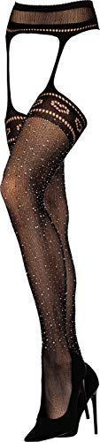 LivCo Strumpfhose in Strapsgürtel Optik - Socks-Palace Edition - Alles in einem für die perfekte Verführung