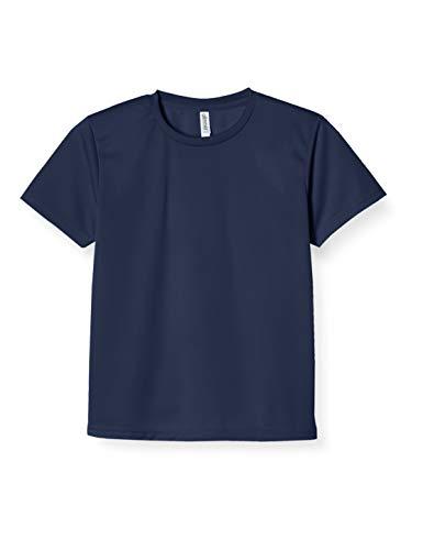 [グリマー] 半袖 4.4oz ドライTシャツ (クルーネック) 00300-ACT ネイビー M (日本サイズM相当)