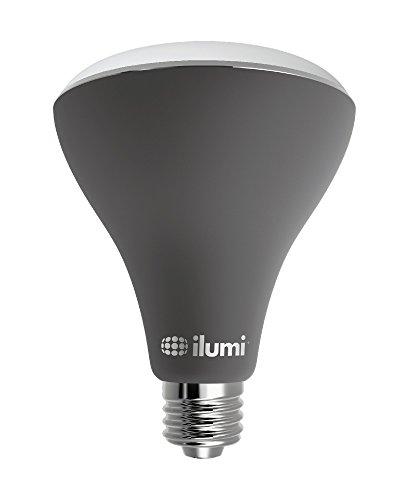 ilumi Outdoor Bluetooth Smart LED BR30 Flood Light Bulb, 2nd Generation - Smartphone Controlled...