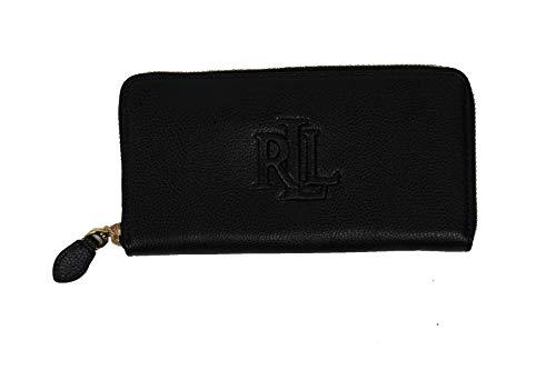Ralph Lauren dames portemonnee/portefeuille - zwart