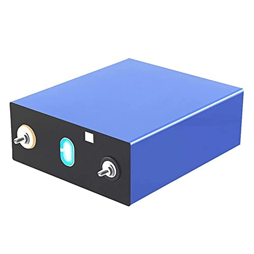 ZQW Células De Fosfato De Hierro Y Litio, Grado A 3.2V 310AH Ciclo Profundo Lifepo4 Celdas De Batería Recargable Batería para Carro Golf RV Barco UPS, Etc (Color : 1Pcs, Tamaño : 3.2V 310ah)