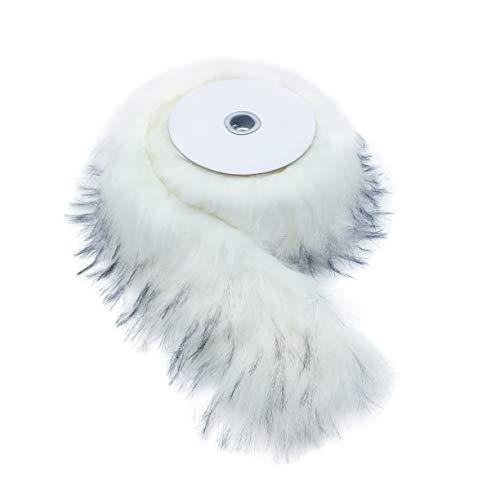 Furryvalley Cinta de piel sintética de raza de zorro para manualidades, diseño...