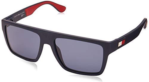 Tommy Hilfiger TH 1605/S gafas de sol, MTBL AZUL, 54 para Hombre