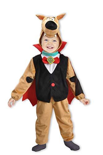 Ciao-Scooby-Doo Halloween Special Edition costume bambino originale (Taglia 2-3 anni) Disfraz, color marrone, rosso, nero, (11723.2-3)
