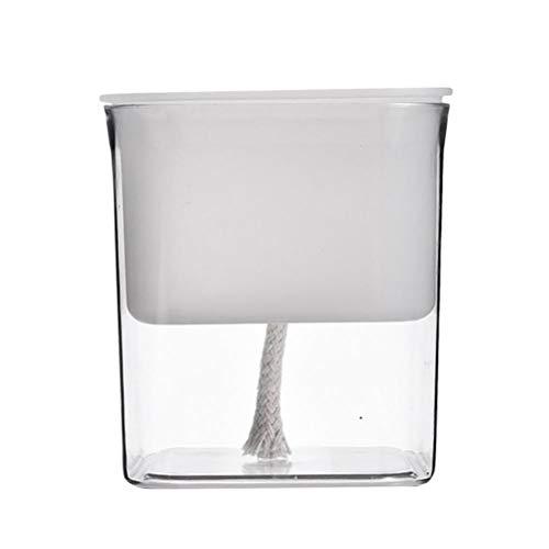 Self-watering bloempot huishoudelijke plastic zelf-watering bloempot automatisch absorberende water opslag planter planter voor gebruik binnen en buiten, 11,1 * 9,1 * 11,3 cm