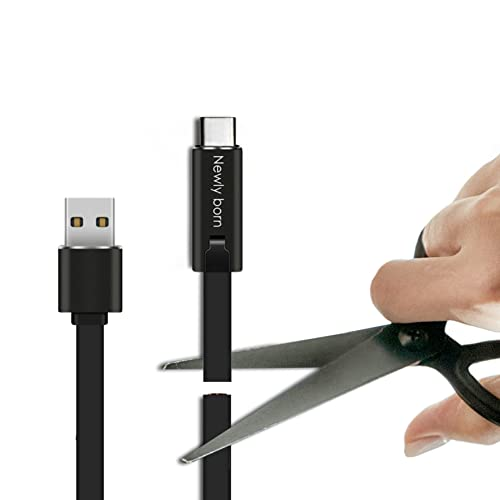 Thevenz Cable USB C, nueva generación, tipo C, 1,5 m, reparable, cable de carga tipo C regenerable, cable de carga rápida 5 V/3 A, patente, certificado compatible con dispositivos con puerto tipo C