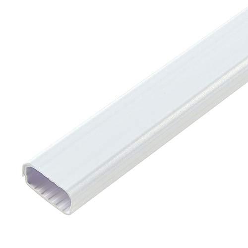 ELPA 切れるモール 2号 [2本用][ホワイト] 配線カバー ケーブルモール MH-CT21H(W)