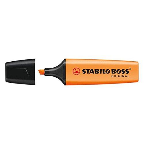 Pack de 3 Naranja Stabilo Boss Resaltadores Fluorescente Colores base de agua Tinta: Amazon.es: Hogar