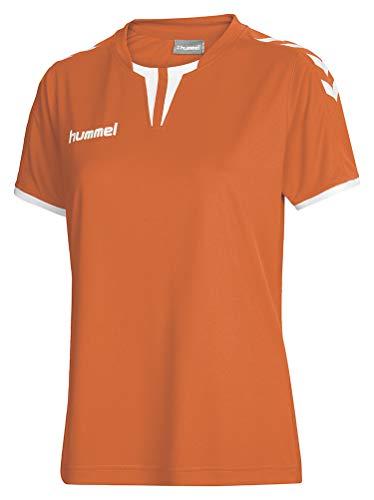 Hummel Damen Trikot Core Short Sleeve Jersey, Tangerine, XS