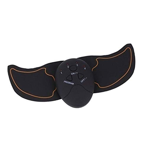 HomeDecTime EMS Muskelstimulator Muskeltrainer Elektrische Trainingsgerät Pad USB-Auladung Arm Armtrainer Oberschenkeltrainer Fitness