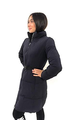 Emporio Armani 6G2L68-2NUHZ-1001 Mantel für Damen, Schwarz, Blau 34