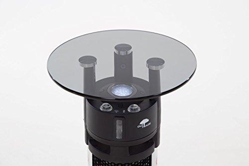 OutTrade Heizung Tisch Model, Grau, 32 x 28 x 65 cm - 5