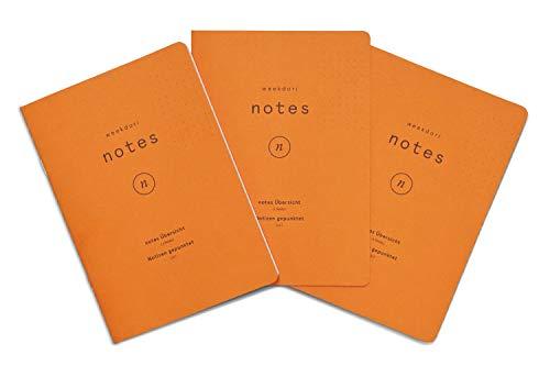 Notizheft Set | weekdori notes A5 | aus Gmund Papier gefertigt