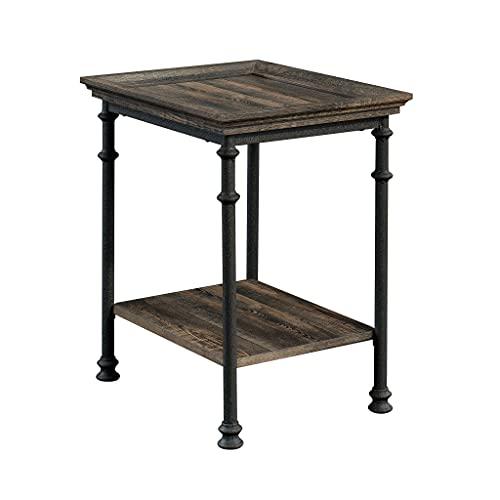 Sauder Lift-top Coffee Table, Engineered Wood, Carbon Oak, L: 21.5' x W:...
