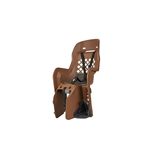 Motodak - Portabebé AR sobre marco polisport Joy FF marrón cojín gris oscuro – 22 kg