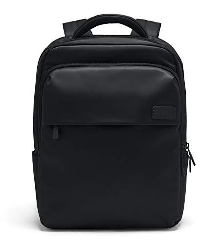 Lipault - Plume Business Backpack - 17' Laptop Over Shoulder Purse Bag for Women - Black