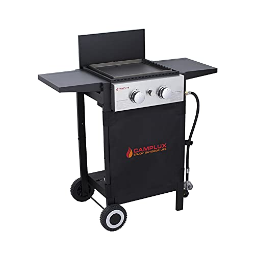 Camplux Outdoor Gas Griddle and Grill Combo