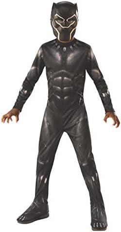 multicolore Costume ufficiale Black Panther Avengers da bambino taglia 7-8 anni I-700657L I-700657L Rubies