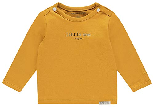 Noppies U tee LS Hester Text Camiseta, Amarillo (Honey Yellow C036), 62 para Bebés