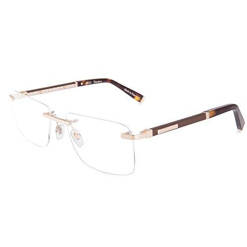 ZILLI 60032 C05 Eyeglasses for Men Rimless Titanium Eyewear Acetate Frame