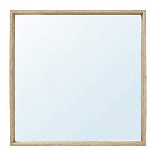 IKEA/イケア NISSEDAL:ミラー65x65 cm ホワイトステインオーク調 (303.908.75)