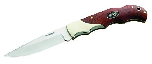Herbertz Unisex– Erwachsene Messer Taschenmesser Cocobolo Länge geöffnet: 19.5 cm, silber, M