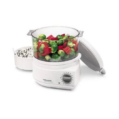 Black and Decker Handy Food Steamer Plus and Rice Cooker Hs90
