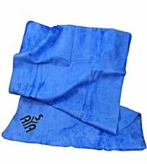 YISAMA Toalla De PVA Chamois Perfecta Para Deportes Acuaticos, Camping, Pesca Solo Escurrir Y Secar De Nuevo Empaque Flexible 43x66 Color Azul