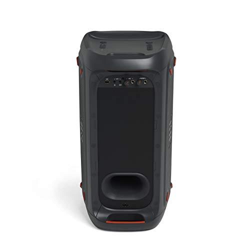 JBL PartyBox 100 in Schwarz – Tragbarer Bluetooth Party-Lautsprecher mit Lichteffekten – Spritzwassergeschützte, mobile Musikbox mit Netzteil - 3