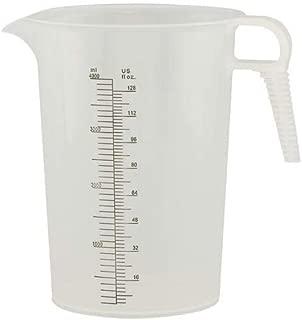 Verified Exchange 128 oz. Accu-Pour PP Measuring Pitcher (1 Pitcher)