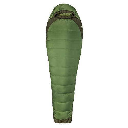 Marmot Trestles Elite Eco 30 Sac de Couchage Mixte Adulte, Vine Green/Forest Night, FR Unique (Taille Fabricant : 183 cm)
