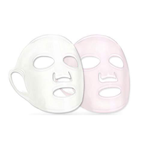 NaisiCore Silicón de la Cara de Hoja Facial hidratante Suministros Clavo de la Cubierta de la Cara Cubierta para Evitar la evaporación