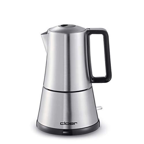 Cloer 5918 Libera installazione Macchina per espresso 1.5L Acciaio inossidabile macchina per caffè