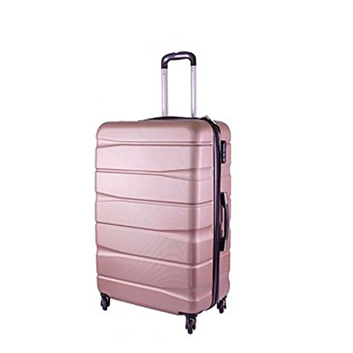 Conjunto de 3 maletas Hardshell T-HC-03 Oro Rosa