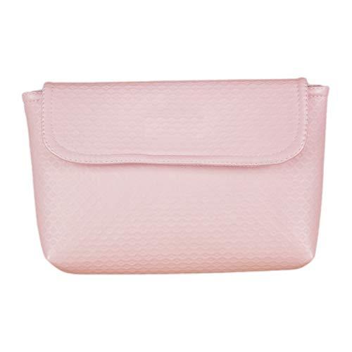 Funda para pañales, toallitas y crema Rosy Fuentes en color rosa