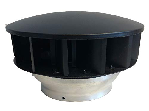 Windgetriebener Lüftungsventilator für Ø 125 mm