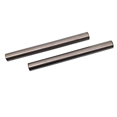2pcs Dia 10mm 0.39' Length 100mm 3.94' TC4 Titanium 6al-4v Round Bar Rod