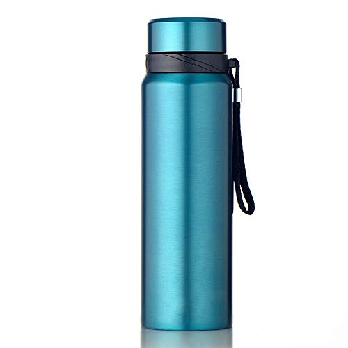 Vacuum Insulated Water Bottle Stainless Steel Water Bottle -Thermal Flask Double Wall Vacuum Hot Cold Insulated Flask Travel Mug For Outdoor Sport Camping Hiking for Cyclists, Runners, Hikers, Beach G