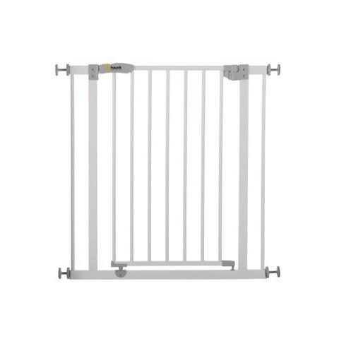 Hauck 59702–Türschutzgitter open' N Stop Safety ausziehbar 74bis 81,5cm