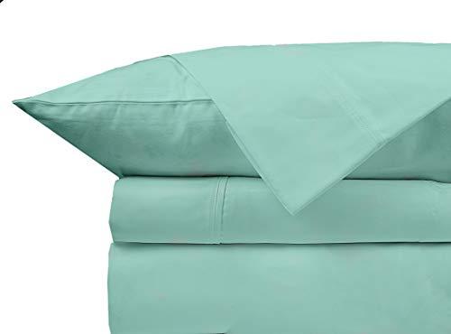 Extra lange Bettlaken aus Baumwolle 800 TC für Kinder und Erwachsene, aus 100 %...