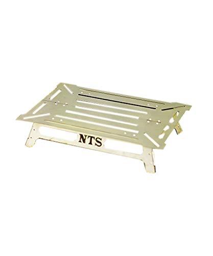 NATURE TONES(ネイチャートーンズ) アウトドアテーブル 小型テーブル ワンハンドソロテーブル OHST-B4-SUS ステンレス