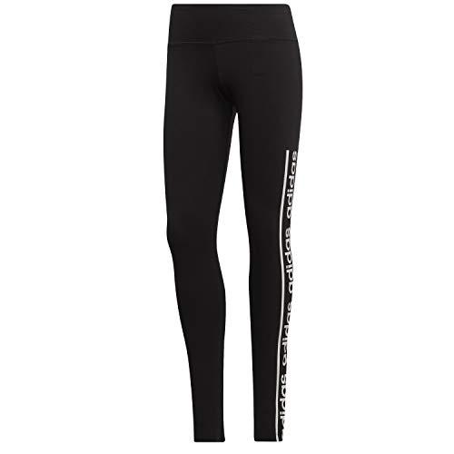 adidas W C90 Tight Mallas, Mujer, Black/White, S