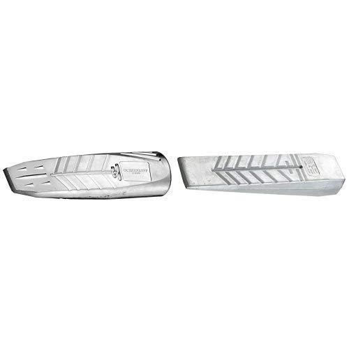 OCHSENKOPF OX 41-1000 Alu-Drehspaltkeil oval & OX 42-1050 Alu-Massivkeil 1050 g