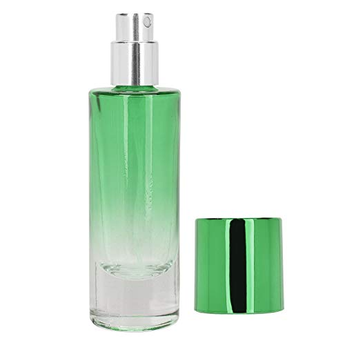 Botella de aceite esencial Botella de spray de perfume de 5 piezas para uso de viaje para bolsillo para bolso para uso doméstico(green)